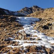 Anche se manca la neve ... ma il ghiaccio c'è ....