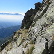 Passaggio nella roccia (per chi non soffre di vertigini)
