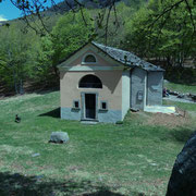 Oratorio e rifugio S. Anna 1342 m