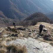 Salita all'Alpe Agario