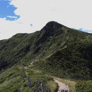 Dalla Bassa di Montoia verso il Monte Gradiccioli
