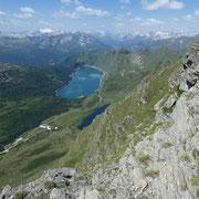 Panorama dal Pizzo Corandoni 2659 m