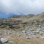 Sul sentiero per la Bocchetta d'Erbea