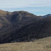 Monte Sirti, Monte Corbaro e Covreto