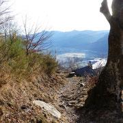 Arrivati a Chiodo 1245 m