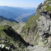 Dal canalone verso Bellinzona