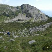 Passo dei Laghetti 2139 m