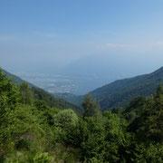 Val Resa dal sentiero per l'Alpe Cardada