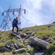 Discesa dalla Sella di Ör Languosa 2359 m