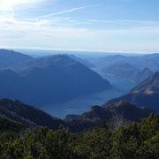 Lago di Lugano e Monte Boglia