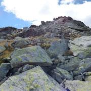 Salita al Pizzo Bareta 2501 m