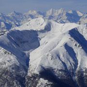 Monte Tamarto e le cime vallesane