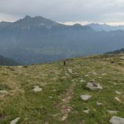 Salita alla sella 2270 m