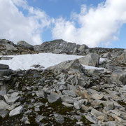 Verso la cima quotata 2698 m