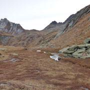 Laghetto a Ganon 2270 m