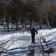Passo di Monte Faèta, Forcola 1117 m
