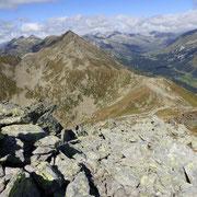 Vista dal Pizzo Bareta 2501 m