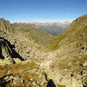 Passo a 2537 m