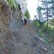 Salita all'Alpe Campolungo