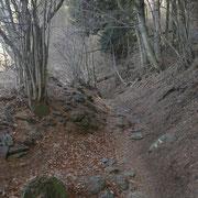 Sul sentiero per la Capanna Monte Bar
