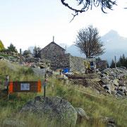 Alpe Arami 1446 m (lavori di ricostruzione)