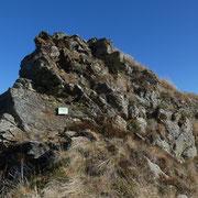 Passaggio roccioso ....