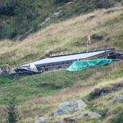 Lavori in corso all'Alpe di Gagèrn