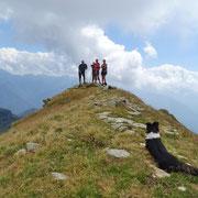 Sulla cresta Pizzo di Claro - Molinera