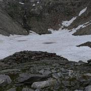 Laghetto a 2575 m