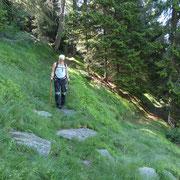 Deviamo verso l'Alpe di Cadino