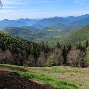 Panorama dall'Alpe di Mageno