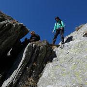 Passaggio roccioso