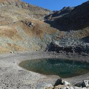 Lago piccolo di Chièra 2344 m