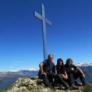 Arrivati alla croce 1674 m