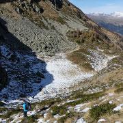 Riprendiamo il sentiero ufficiale per l'Alpe Tarch
