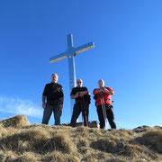 Croce a 2073 m