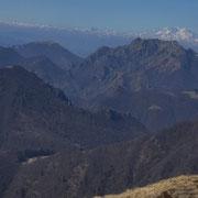 Panorama verso il Monte Boglia e Il Torrione
