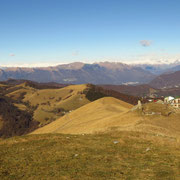 Discesa all'Alpe d'Orimento