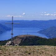 Covreto 1594 m, e sotto di noi il Monte Cadrigna