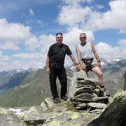 Pizzo dell'Uomo cima quotata 2655 m