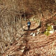Sul sentiero che conduce a Erbonne