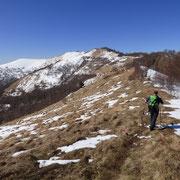 Verso il Monte Boletto