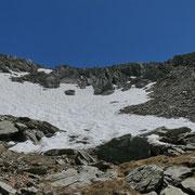 Bocchetta quotata 2294 m