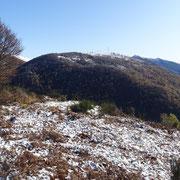 Dal Monte Borgna 1157 m verso il Monte Cadrigna