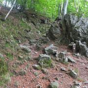 Sentiero per Cavri