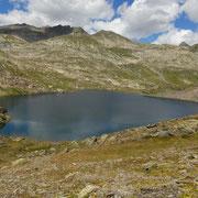 Arrivati alla Bassa del Lago Scuro 2501 m