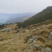 Al Passo delle Traversa ci siamo portati sul lato opposto della valle
