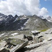 La cresta fino al Pizzo di Lucendro