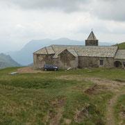 Chiesetta al Passo di San Lucio 1540 m