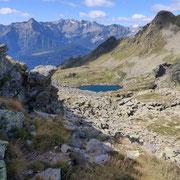 Lago di Mottella e Poncione di Mezzo